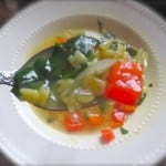 Veggie-Alphabet Soup
