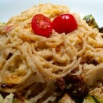 Whole Wheat Pasta with Sun-Dried Tomato Creamy Cauliflower Sauce