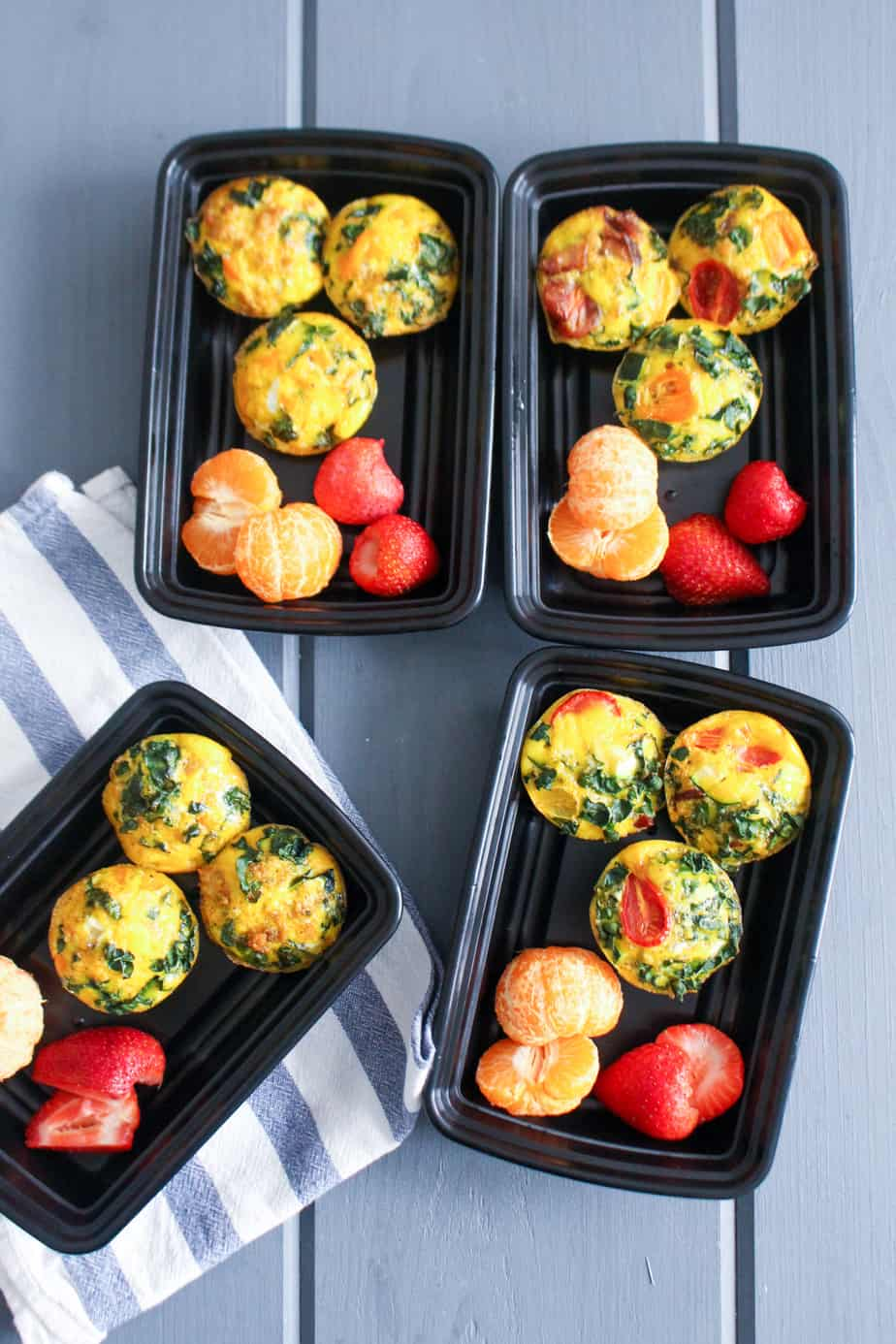Mini Frittata Meal Prep | Frugal Nutrition