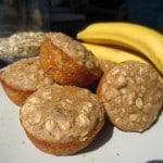 Epic Healthy Banana-Oat Muffins