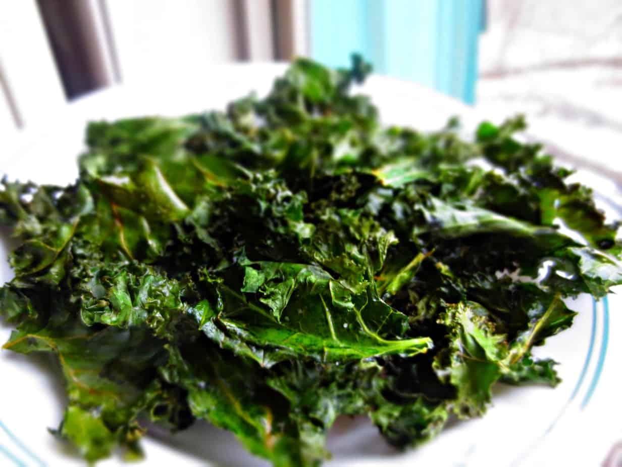 Easy Kale Chips | Frugal Nutrition