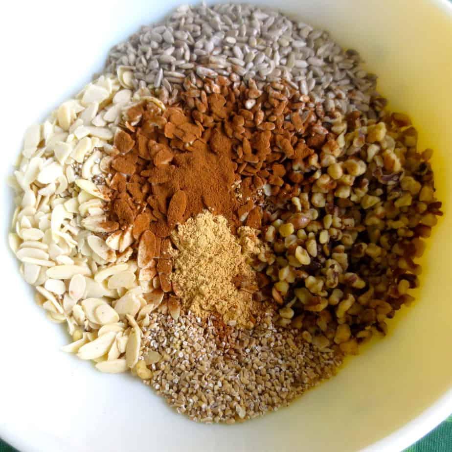 Easy Granola Ingredients