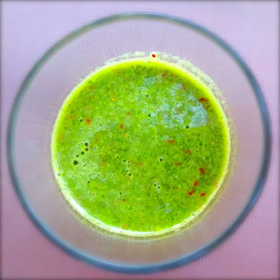 Kale-Banana-Strawberry Smoothie