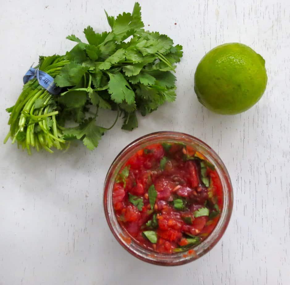 Homemade Paleo Salsa