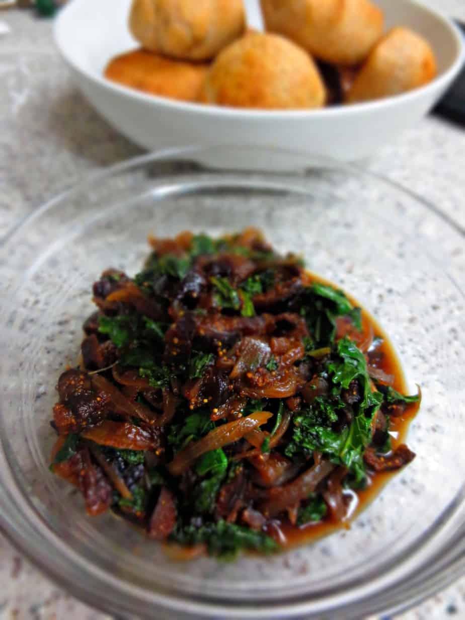Fig Onion Kale