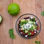 5-Minute Black Bean Avocado Salad