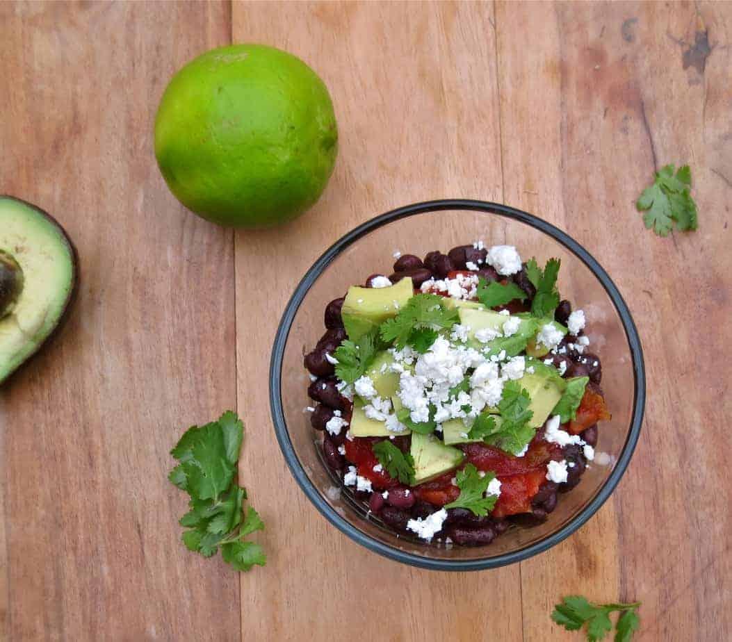 5-Minute Black Bean Salad