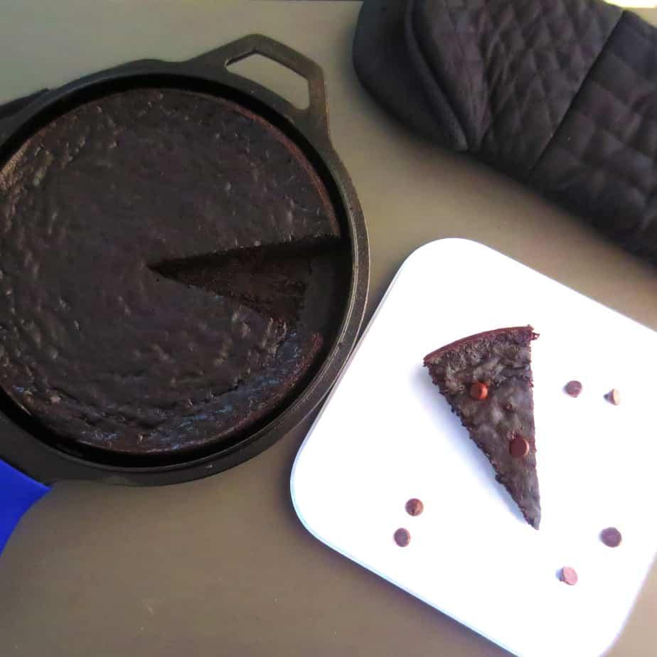 Paleo Dark Chocolate Plantain Brownies