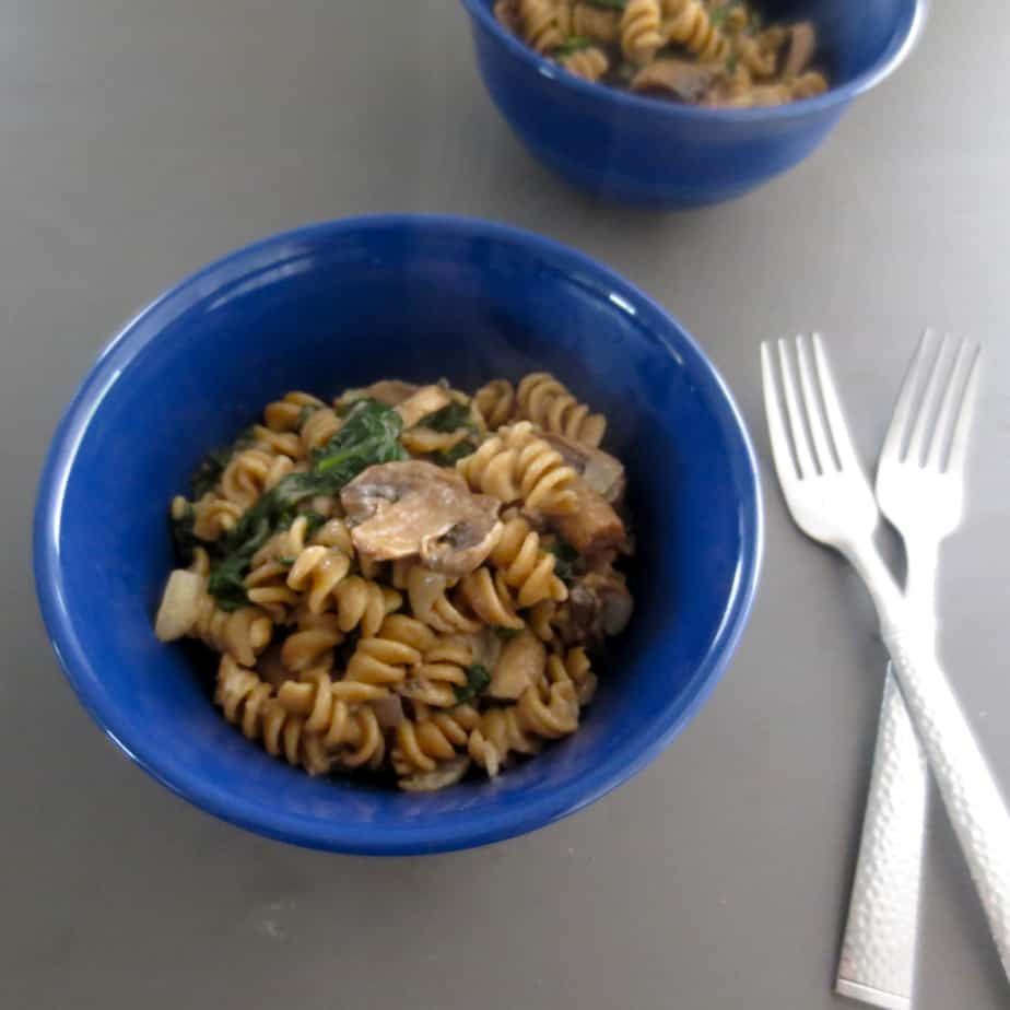 Pasta For Two in Twenty Five Minutes