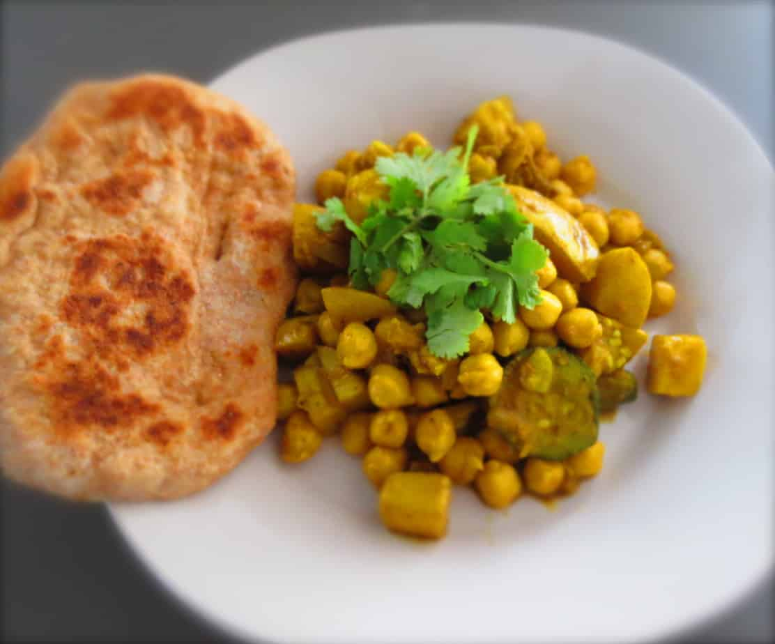 Curried Vegetables Chickpeas