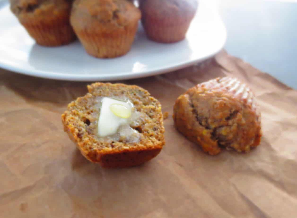 Whole Wheat Banana Muffins - Easy Breakfast