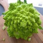 Lemon Walnut Roasted Broccoli Romanesco