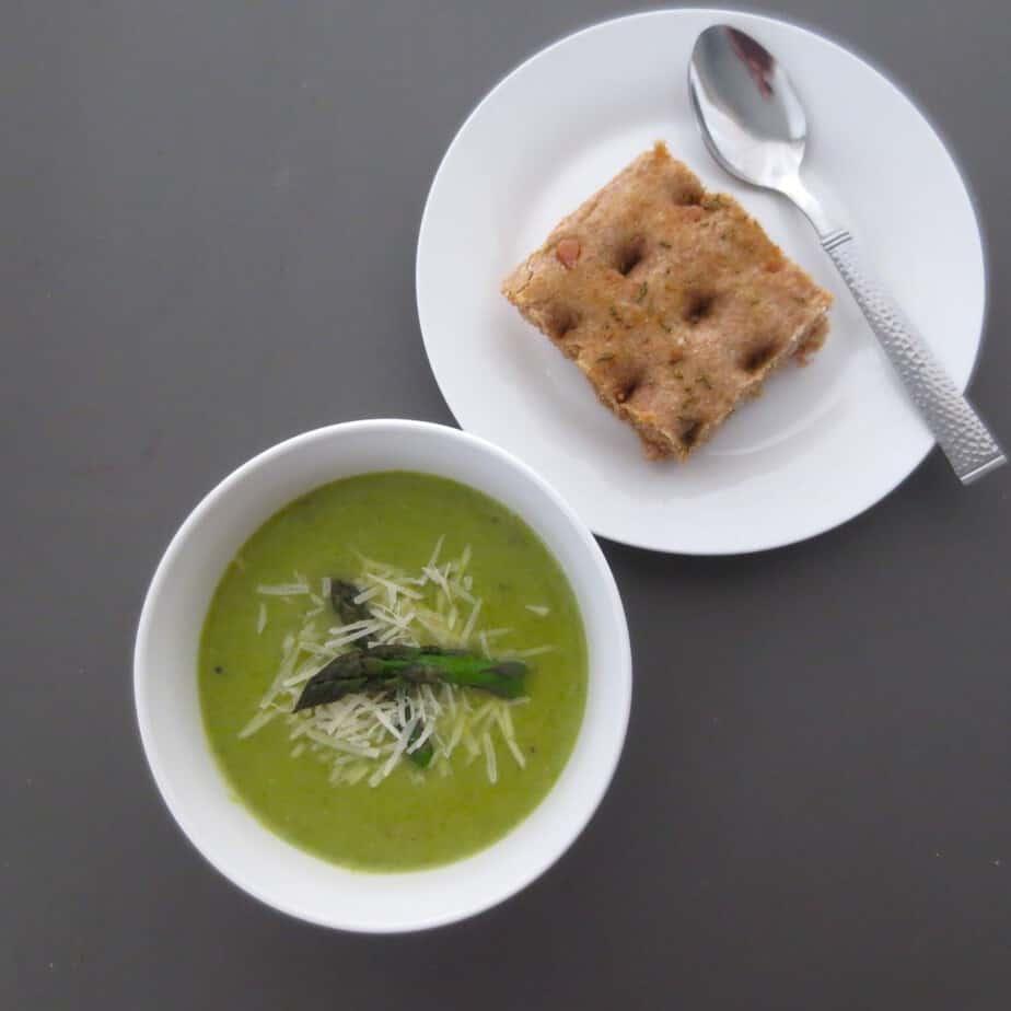Cream Free Asparagus Soup