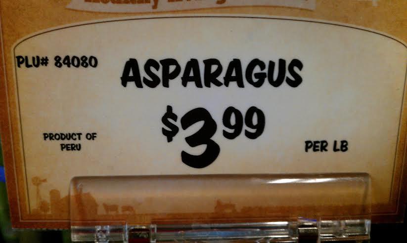 asparagus peru