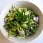 Avocado Coleslaw (With Cabbage and Kale)