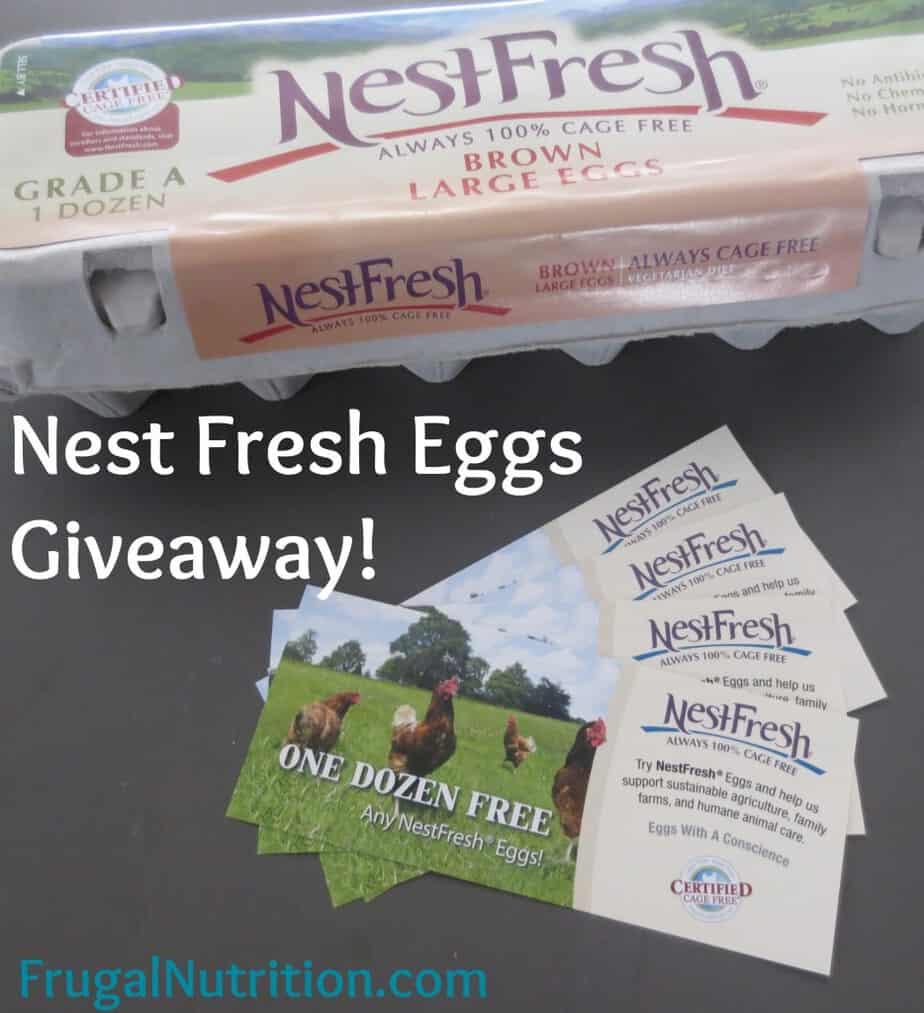 Nest Fresh Eggs Giveaway - FrugalNutrition.com