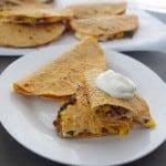 Taco Quesadillas (With Oaxacan Cheese!)