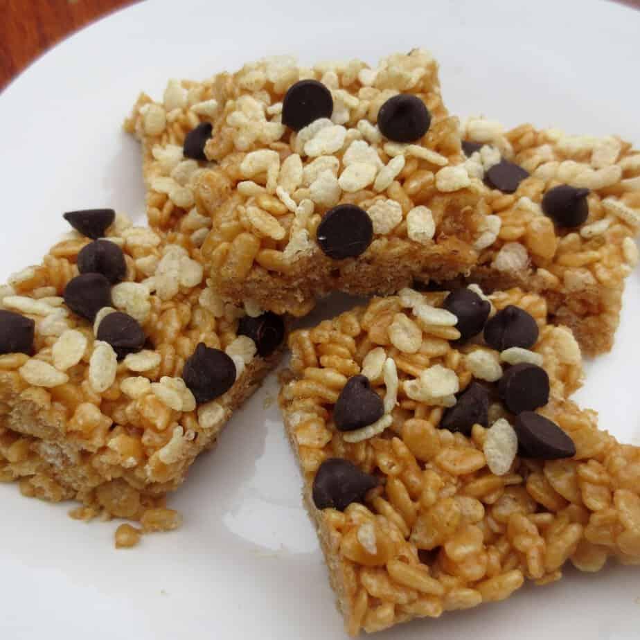 Peanut Butter & Honey Brown Rice Crispy Treats | Frugal Nutrition