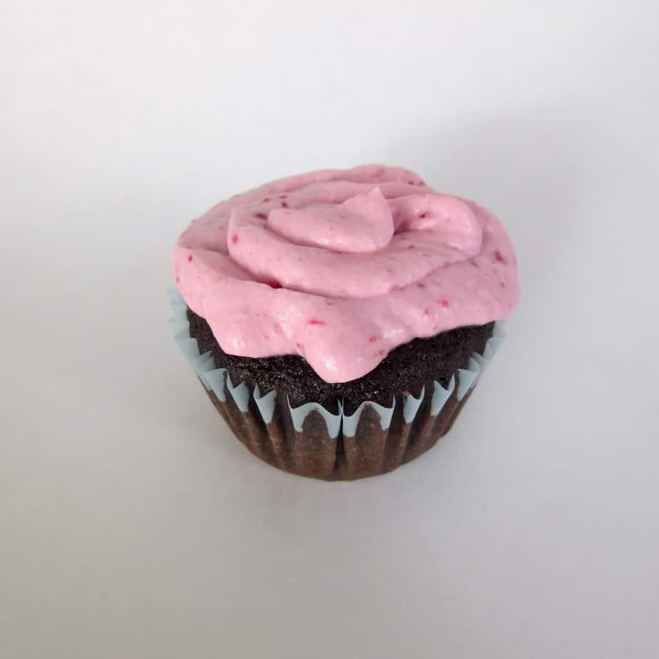 Real Food Chocolate Cupcake