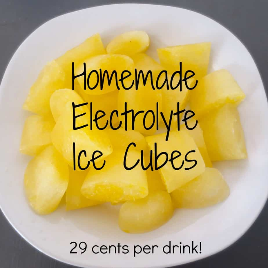 Homemade Electrolyte Drinks