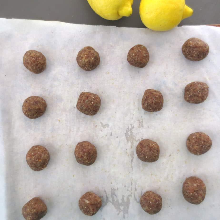 Lemon Almond Cookies - Alex's Lemonade Stand
