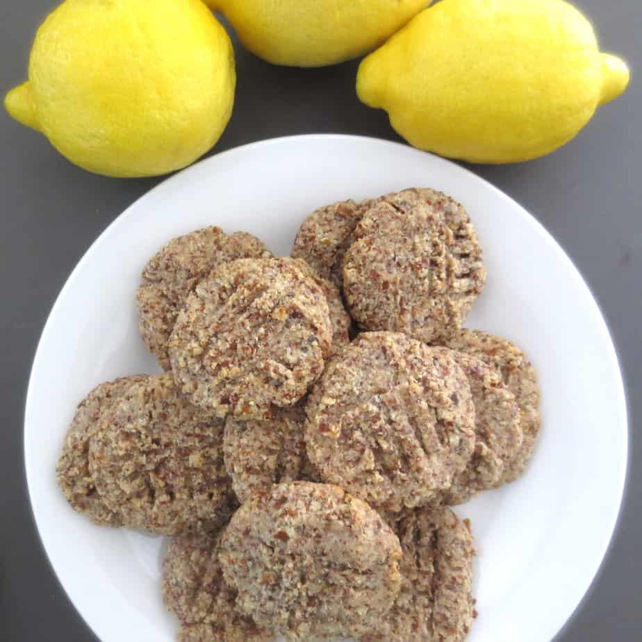 Lemon Almond Cookies (Paleo)