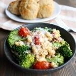 Roasted Vegetable Scampi