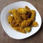 Paleo Almond Crusted Chicken Strips