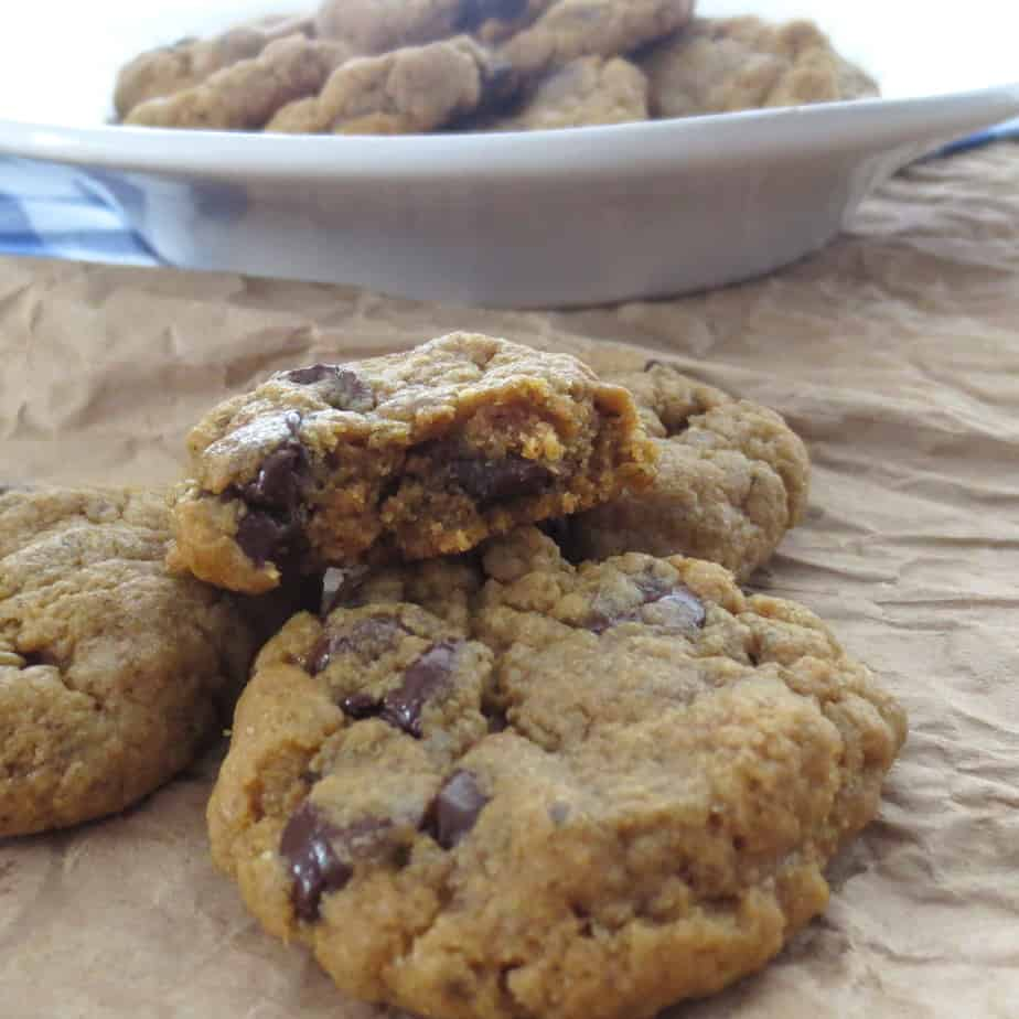 Whole Wheat, Molasses, Honey Choc Cookies