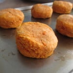 Whole Wheat Sweet Potato Biscuits