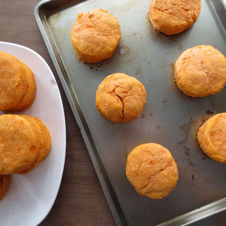 Sweet Potato Biscuits!