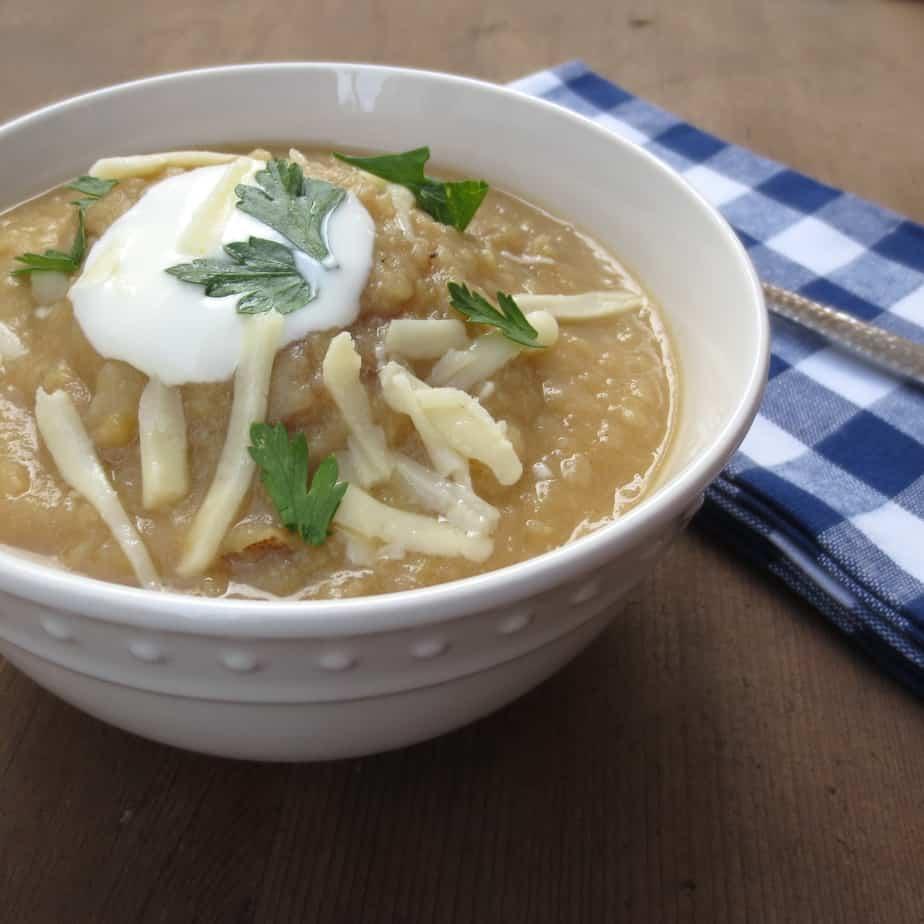 Potato Fennel Soup