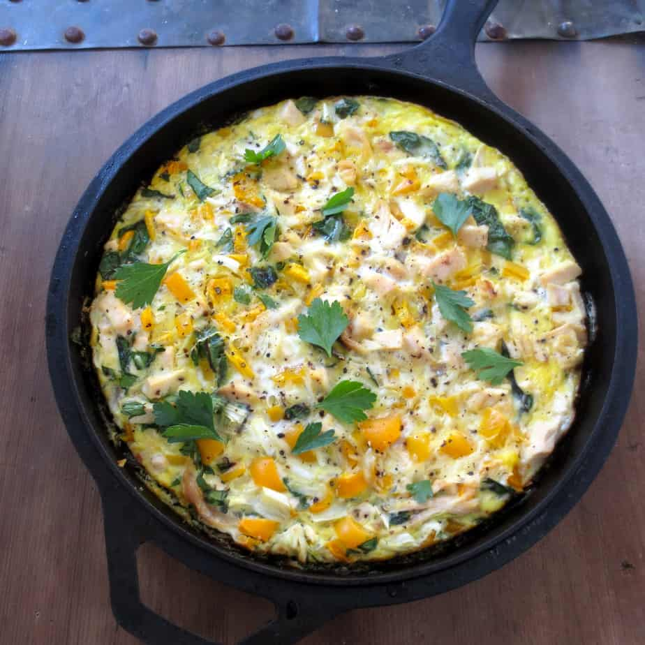 Easy Sweet Potato Frittata