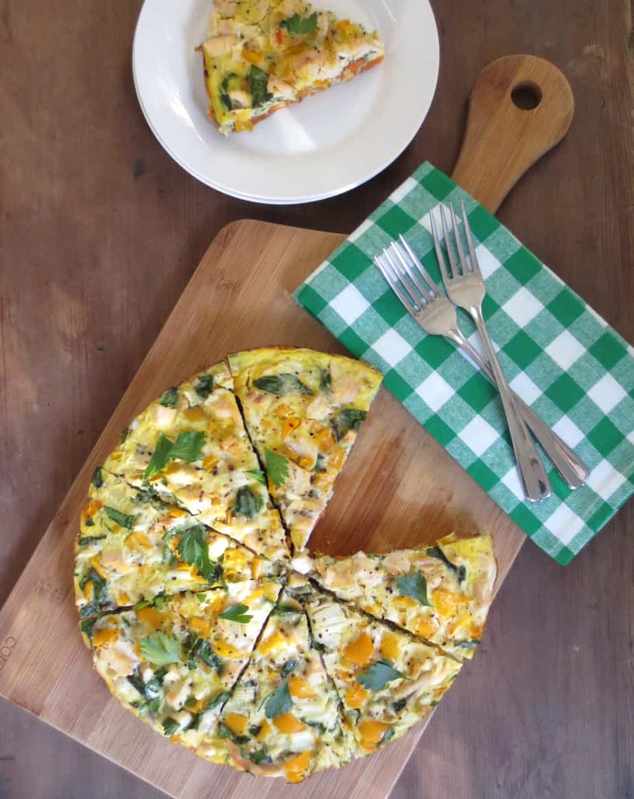 Easy Breakfast Frittata (gluten free)