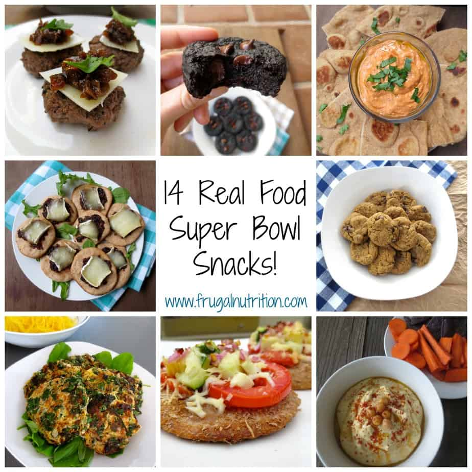 14 Real Food Superbowl Snacks