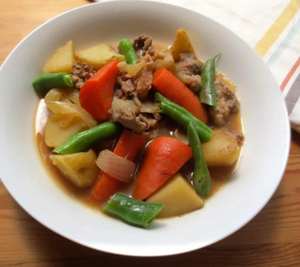 Japanese Beef & Potato Stew
