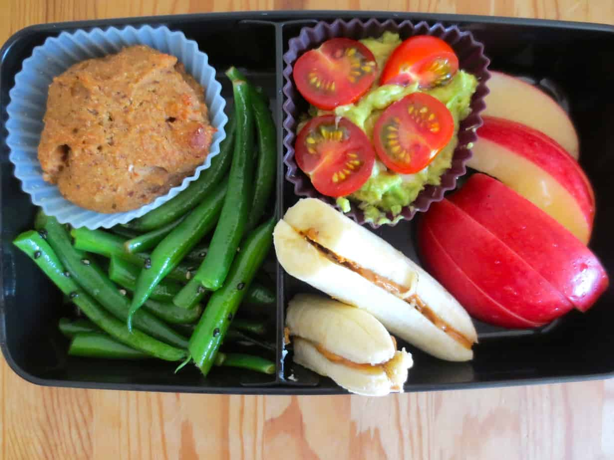 Bento Box - Sesame Steamed Green Beans
