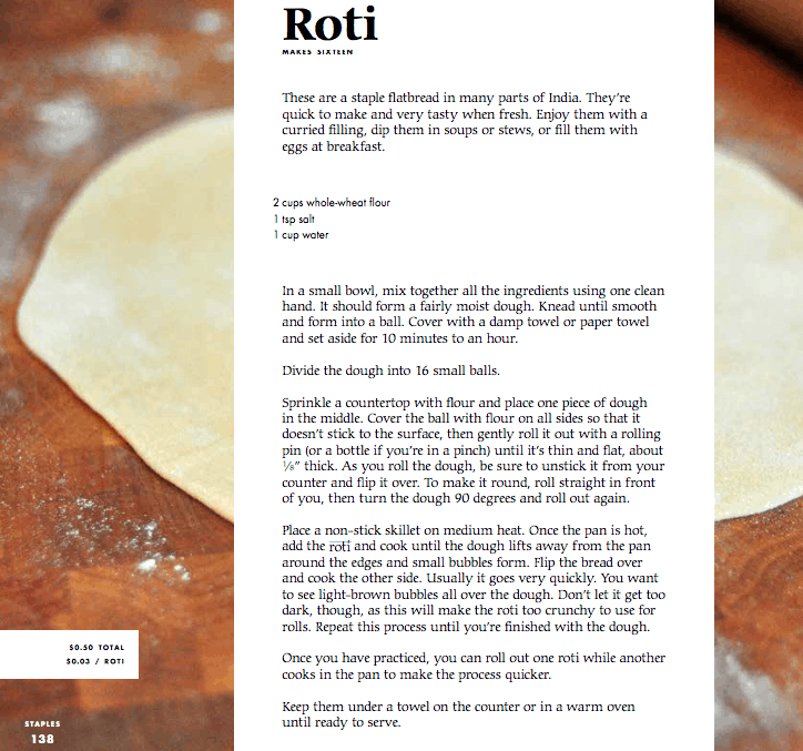Good & Cheap Roti Recipe