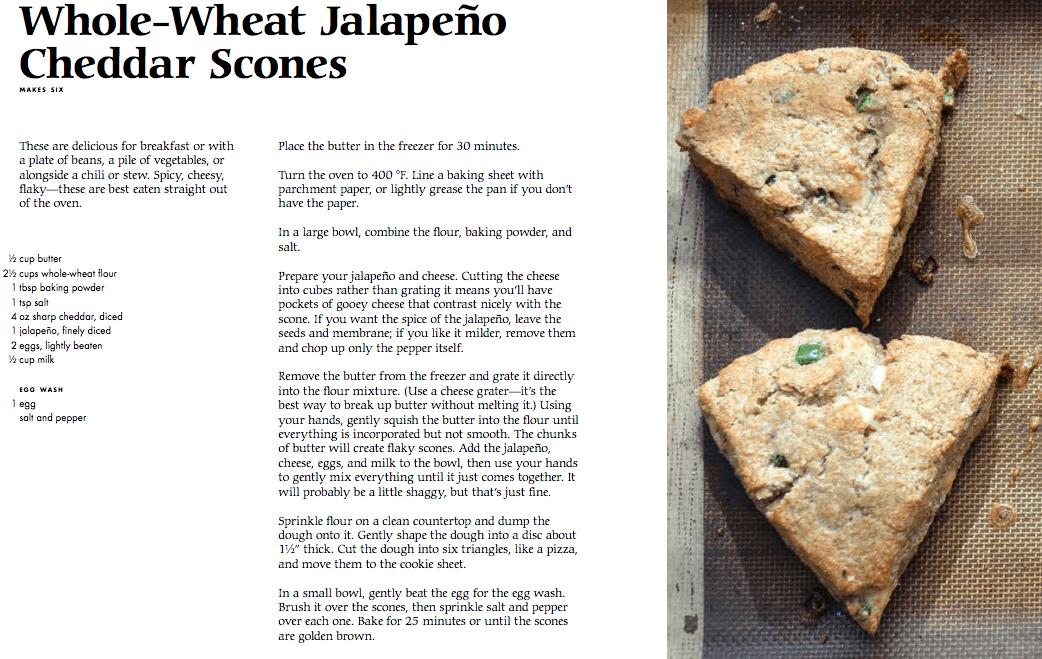 Good and Cheap Whole Wheat Jalapeno Scone Recipe #goodandcheap