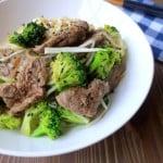 Korean Beef & Broccoli Bowls