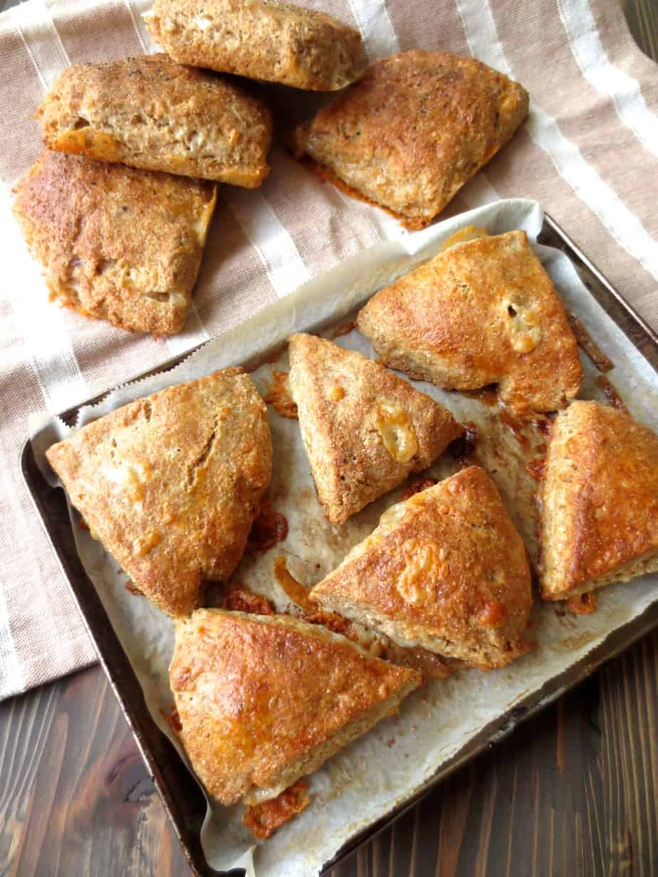 Jalapeño Cheddar Whole Wheat Scones by Good and Cheap - Frugal Nutrition