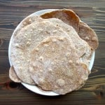 Super easy and cheap Roti - just flour water and salt! Easy Whole Wheat Roti with Indian Raita Sauce