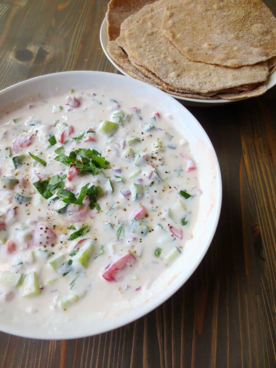 Raita – Yogurt & Vegetable Dip (Good & Cheap Cookbook ...