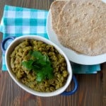 Indian Dal with Homemade Whole Wheat Roti | Frugal Nutrition & #goodandcheap cookbook