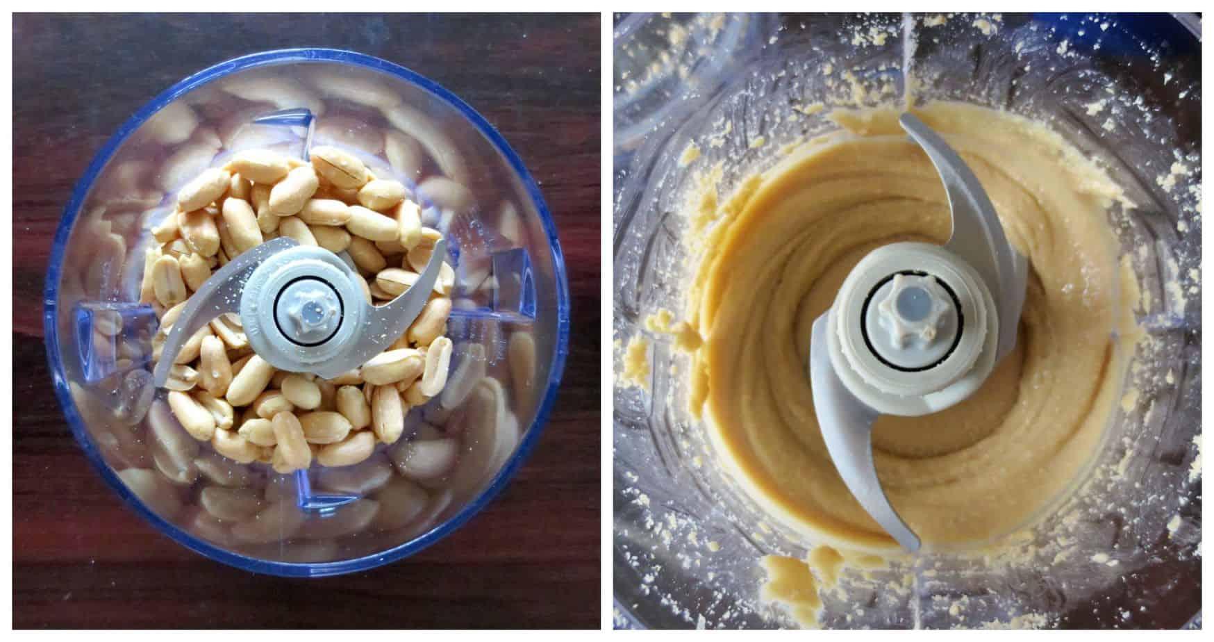 Peanuts make Peanut Butter