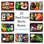 20 Real Food Bento Boxes