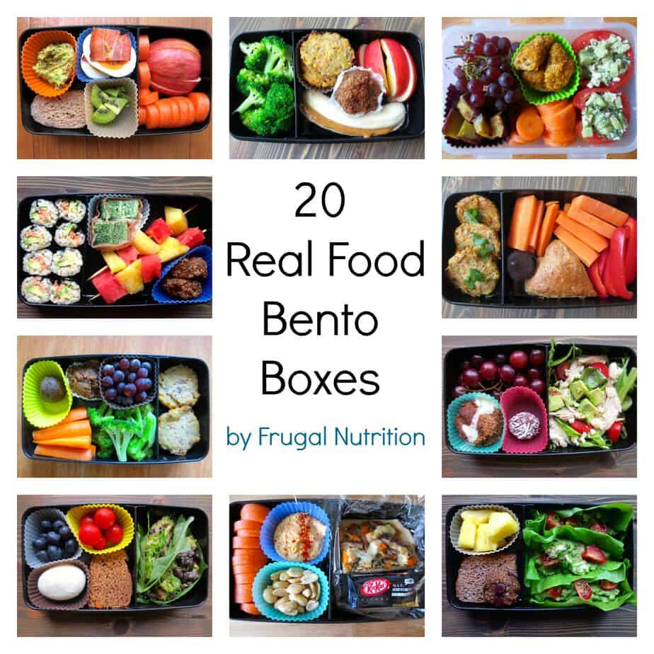 real food bento box round up 20 lunch box ideas frugal nutrition. Black Bedroom Furniture Sets. Home Design Ideas