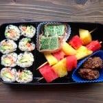 Real Food Bento Box: Salmon-Avocado Sushi