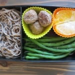 Real Food Bento Box: Soba and Sesame Green Beans