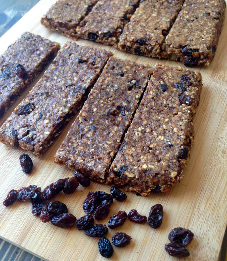 Soft Oatmeal Raisin Bars